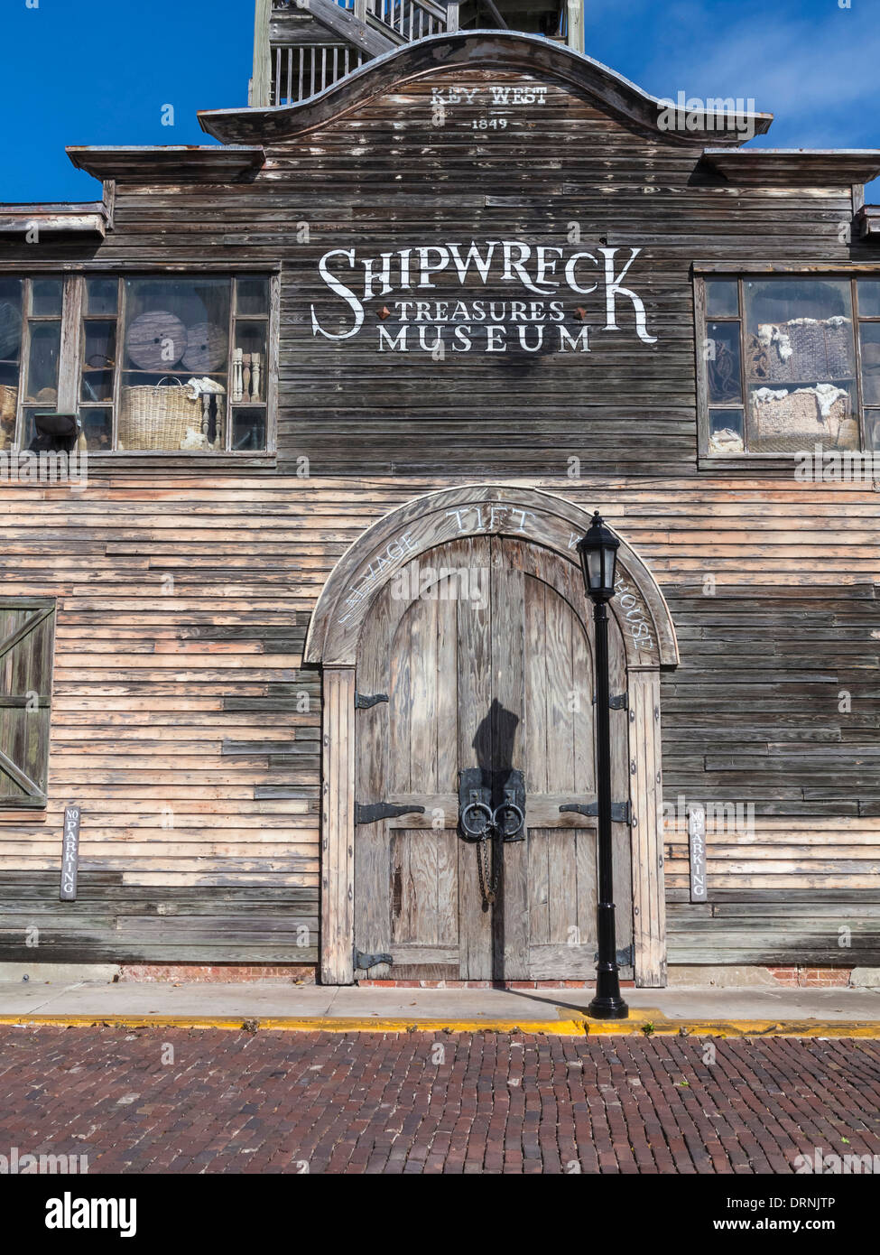 Shipwreck Treasure Museum in Key West, Florida, USA - Stock Image