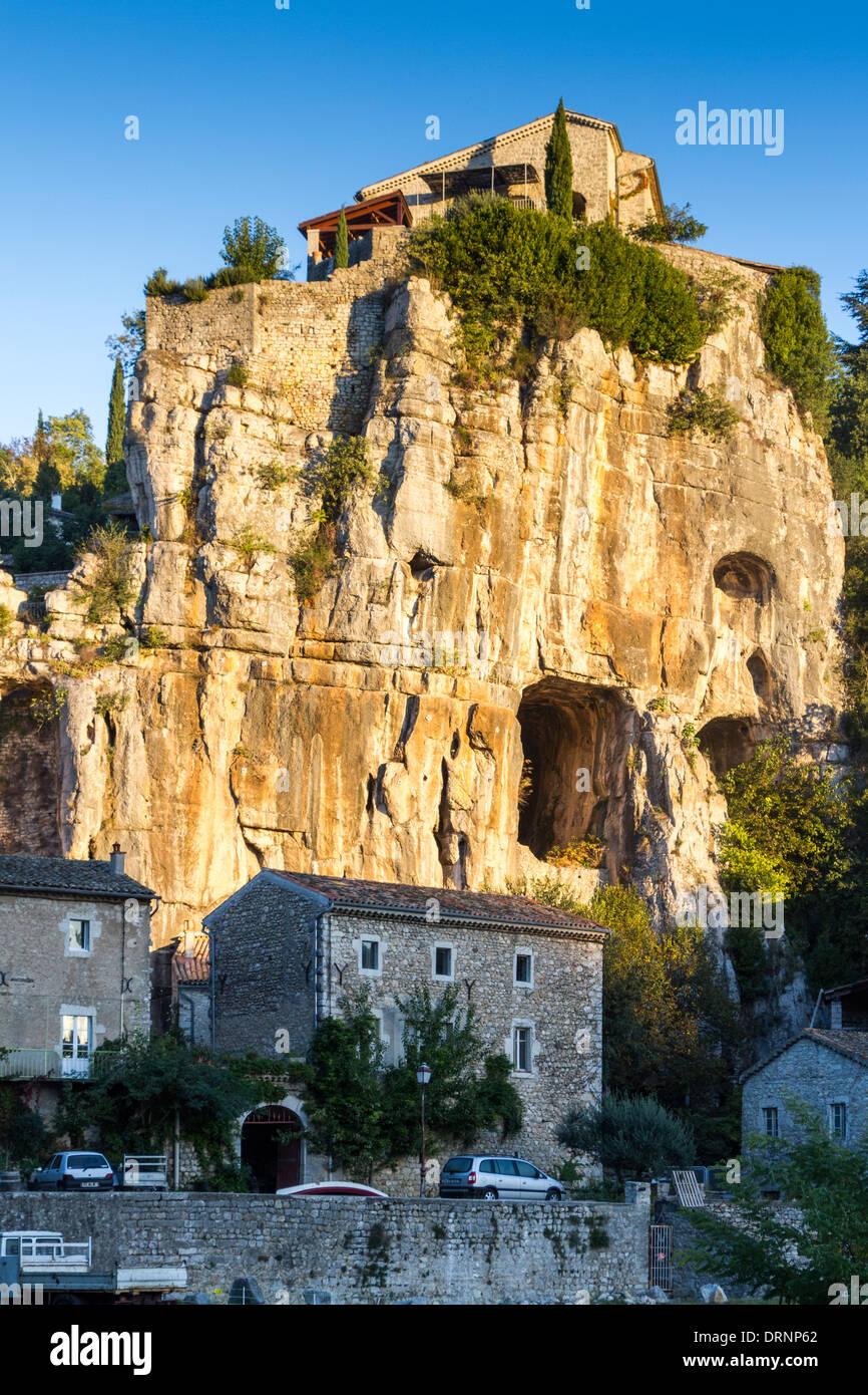 Labeaume, Ardeche, Rhone-Aples, France - Stock Image