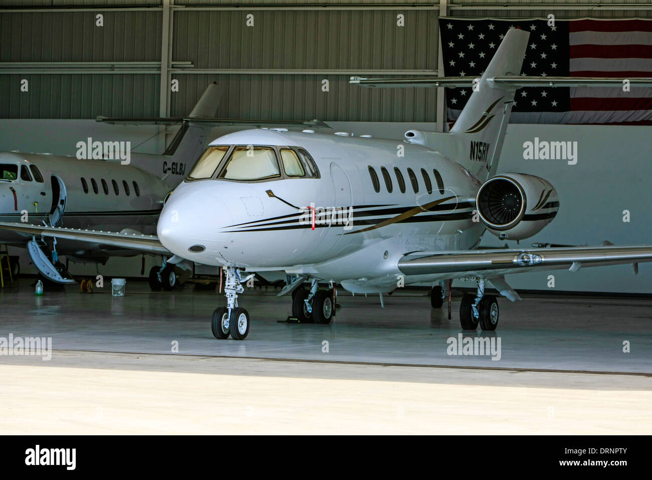 Raytheon Aircraft Company Hawker 800xp - Stock Image