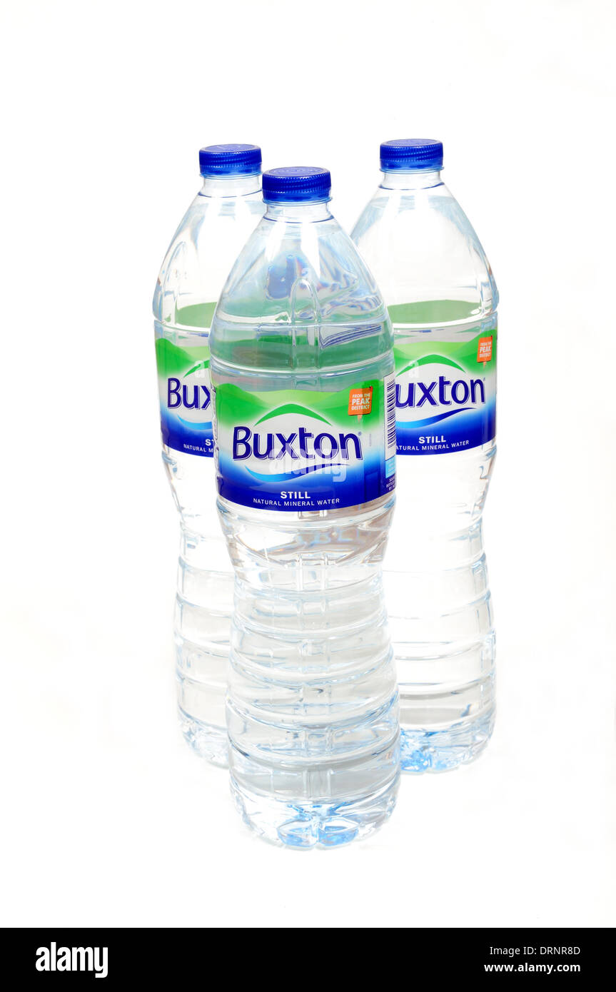Hucknall,Notts,UK.3Oth January 2014.Buxton Natural Mineral Water has today announced a new partnership that will see the British water brand named as the 'Official Water of the Virgin Money London Marathon' - Stock Image