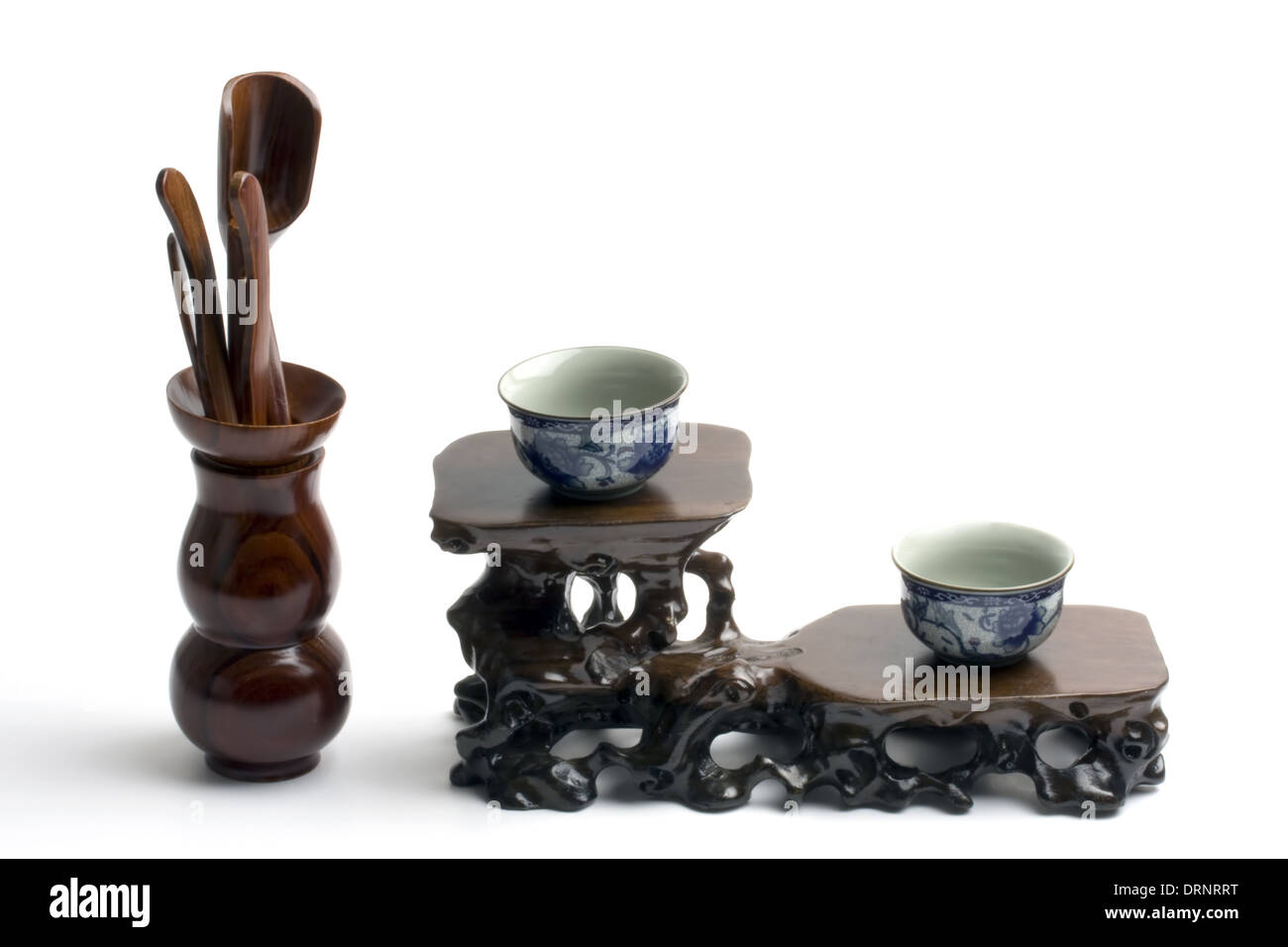 Tea set and tools - Stock Image