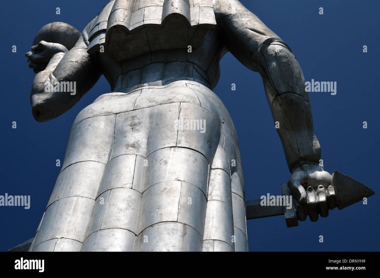 Monument Kartlis Deda (Mother Georgia), Tbilisi, Republic of Georgia Stock Photo