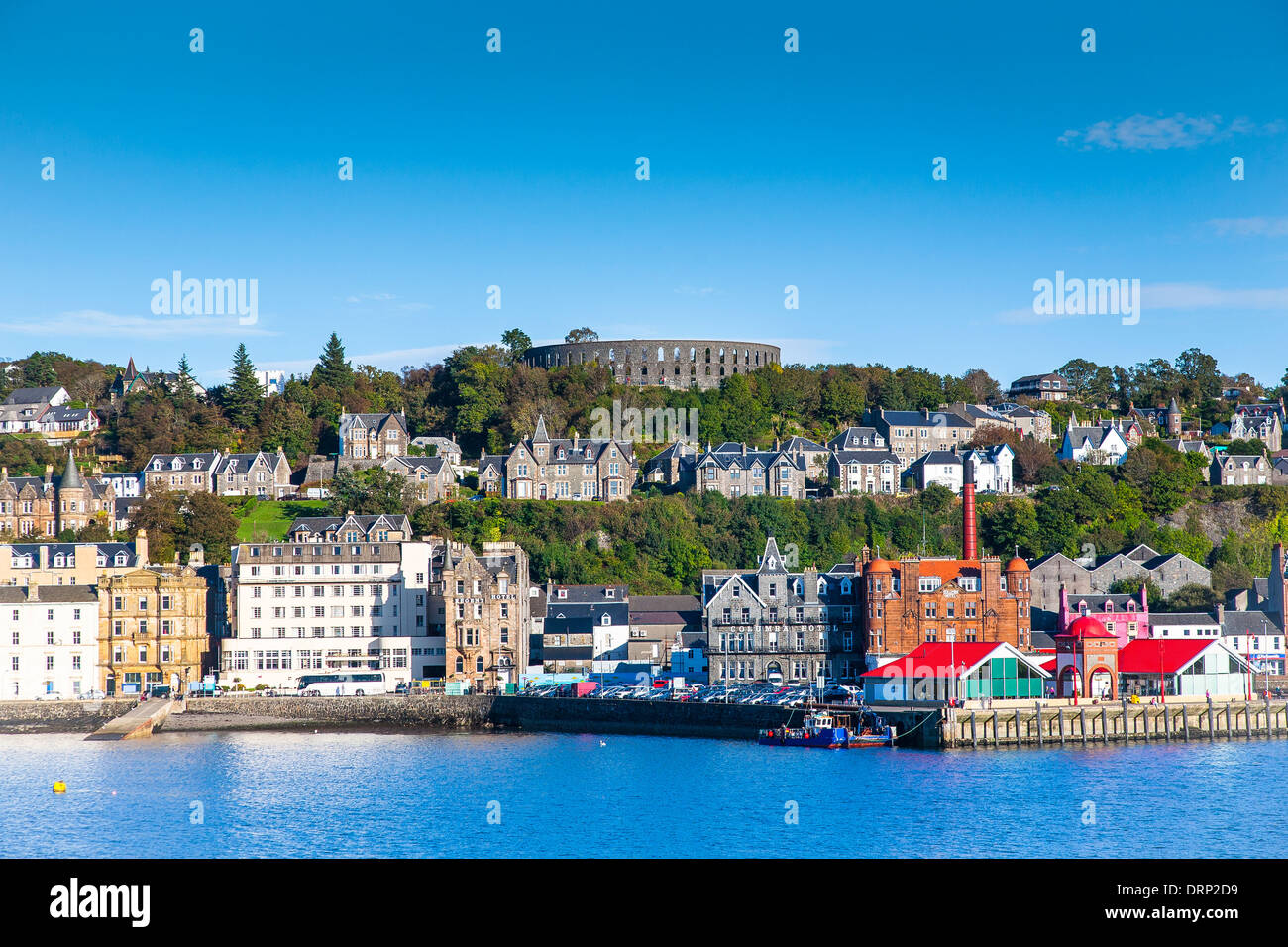 Oban harbour Argyll and Bute Scotland UK 2013 - Stock Image