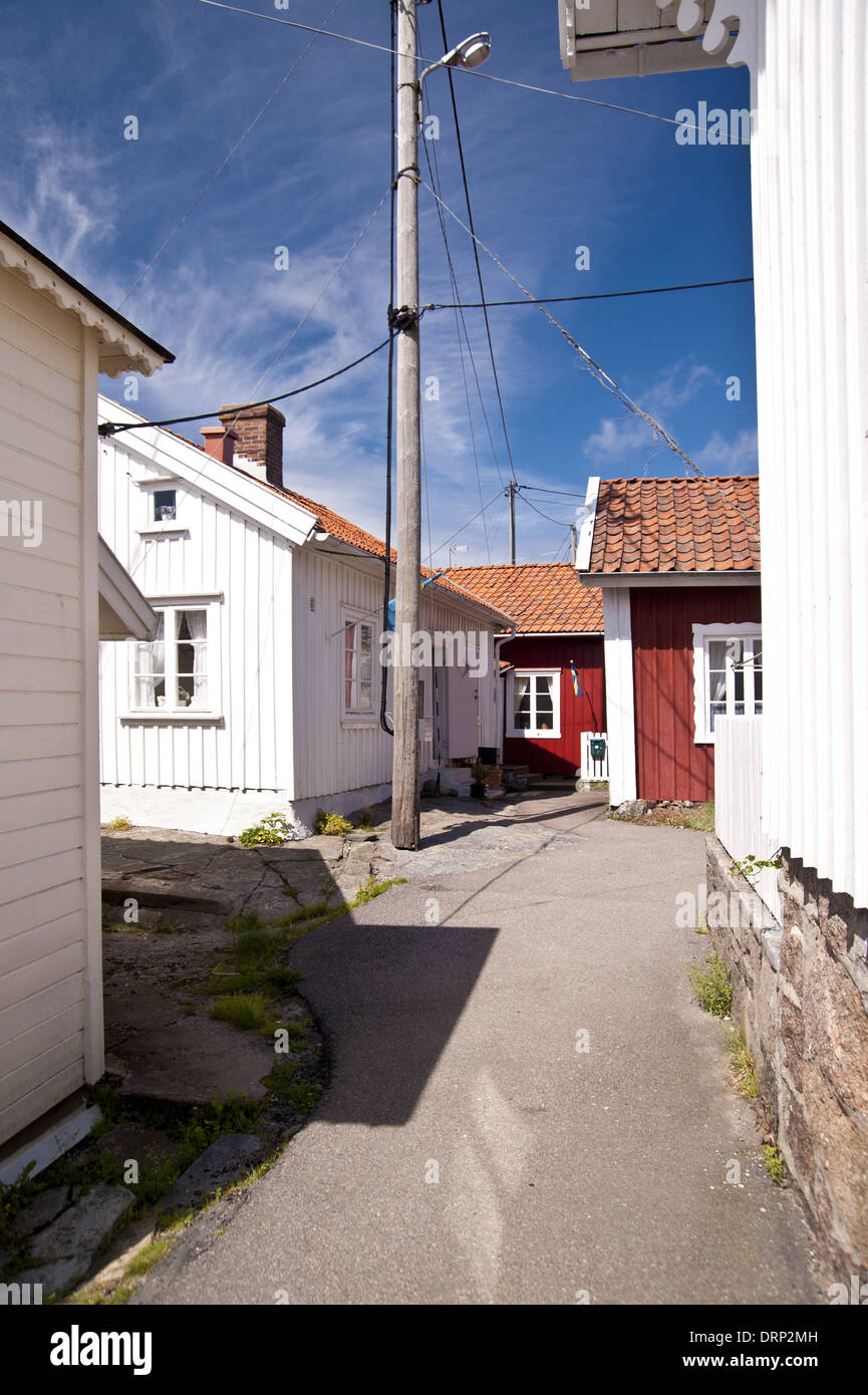 Gullholmen in Schweden Stock Photo