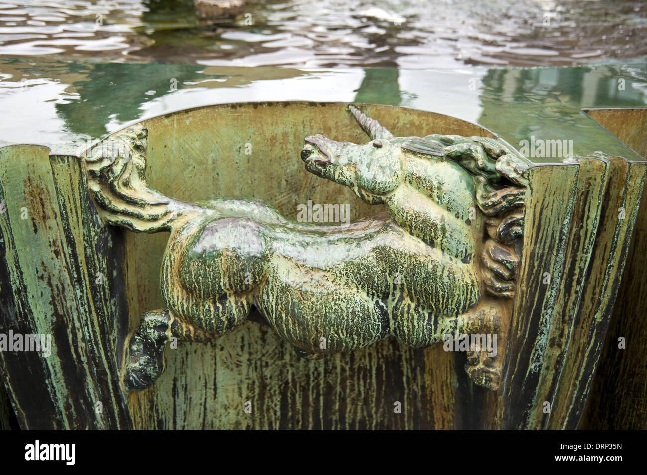 Brunnen - Stock Image