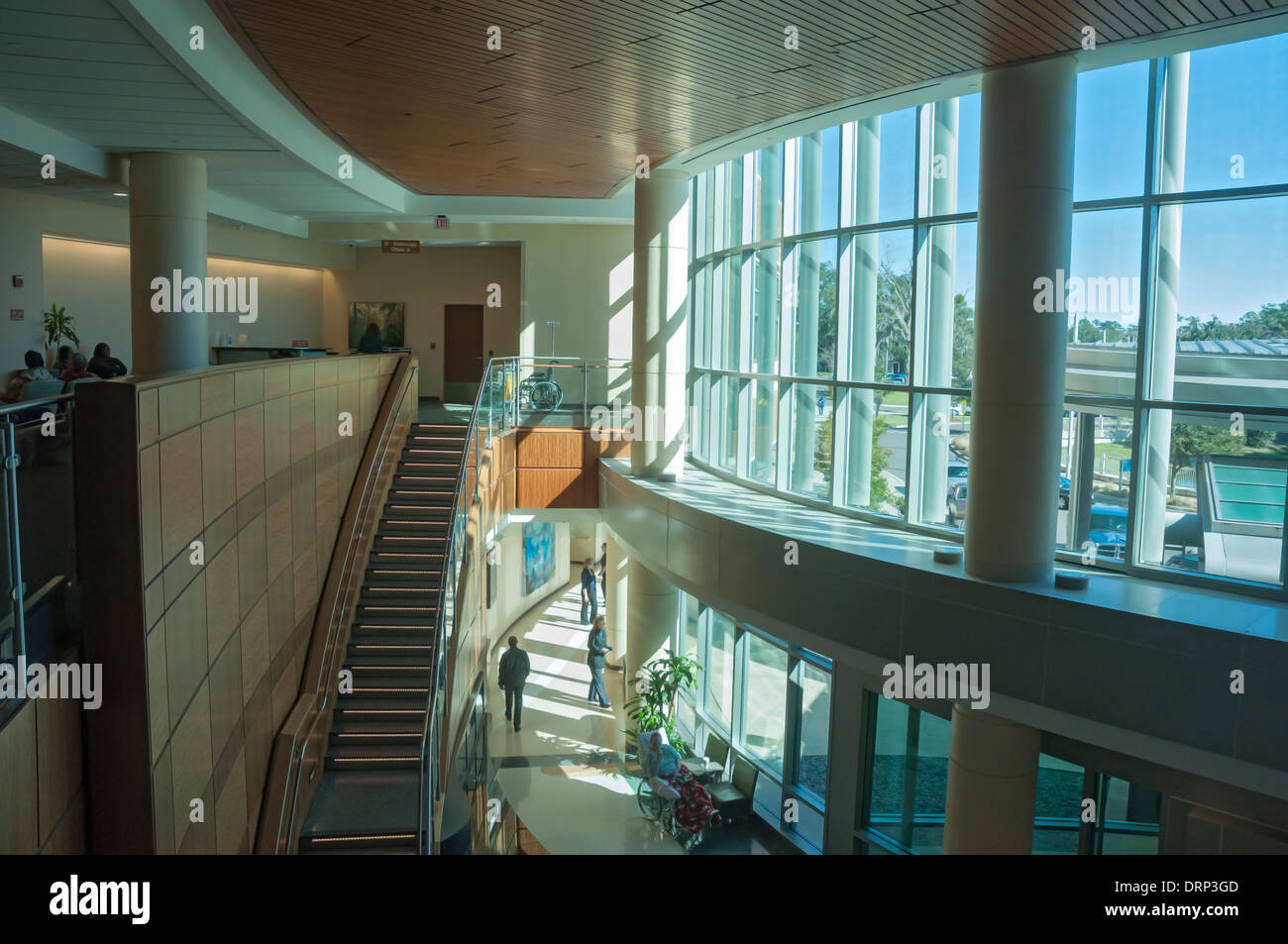 Shands Cancer Hospital at the University of Florida in Gainesville is a world-class facility offering advanced treatment. - Stock Image