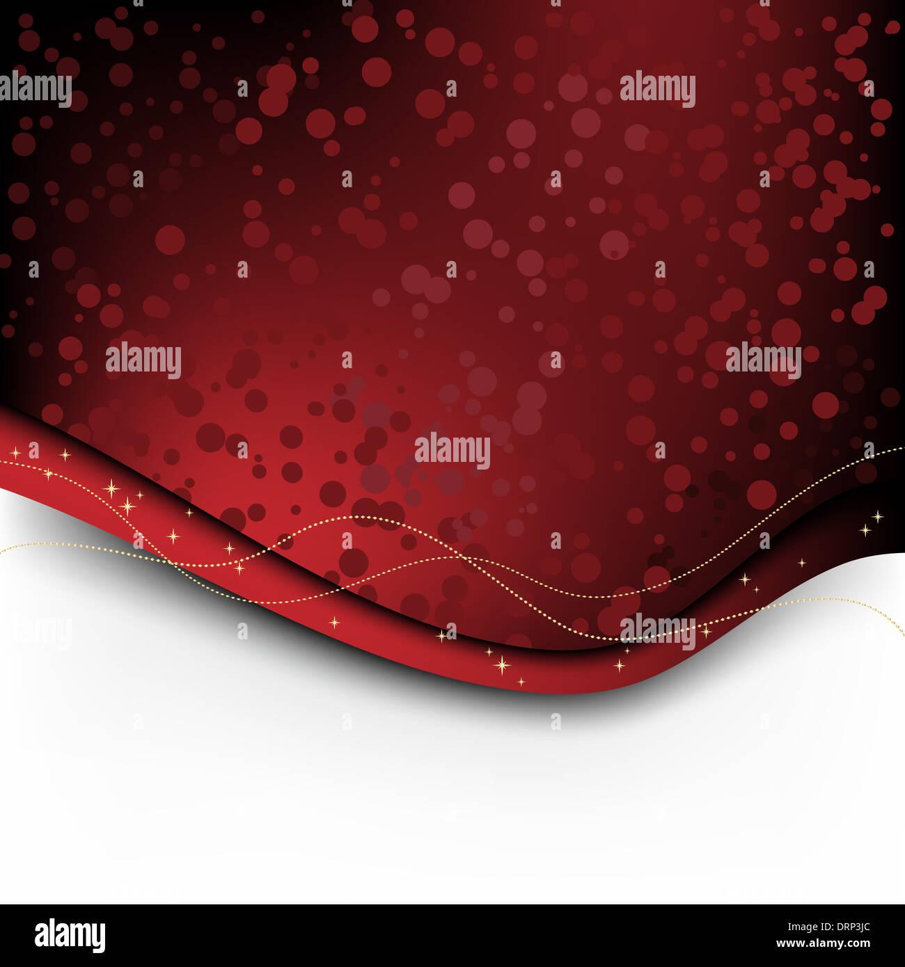 Christmas backdrop - Stock Image