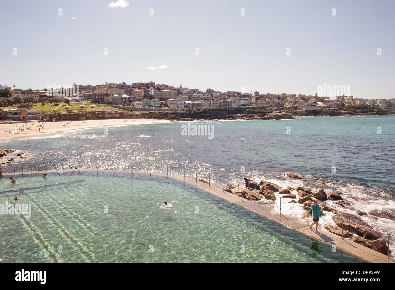 Bondi - Coogee Eastern Beaches Coastal Walk Stock Photo