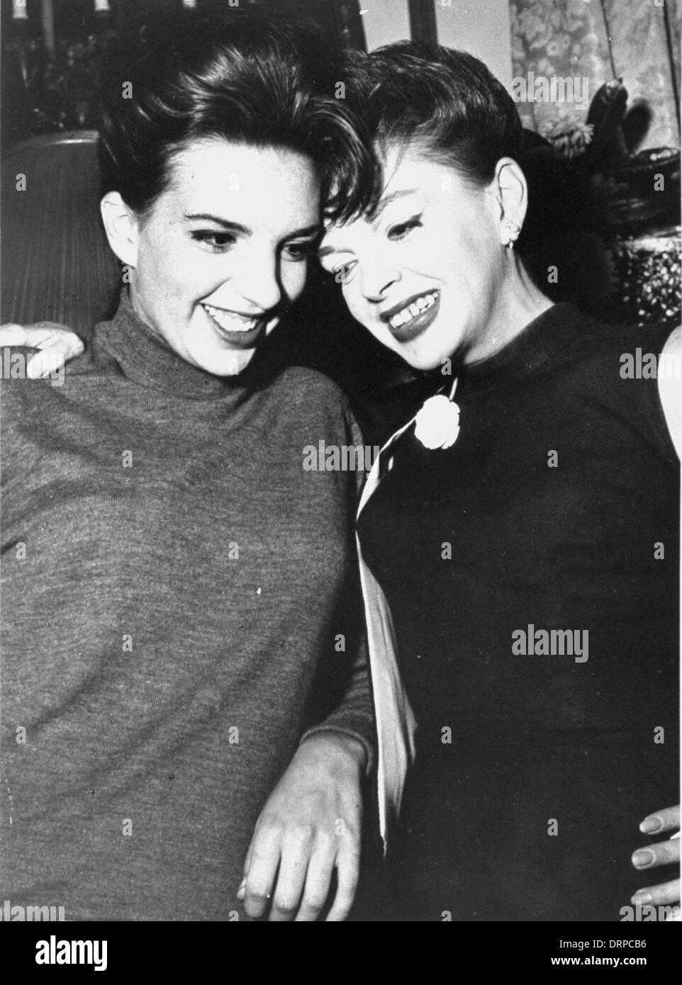 Liza Minnelli Judy Garland Stock Photos & Liza Minnelli ...