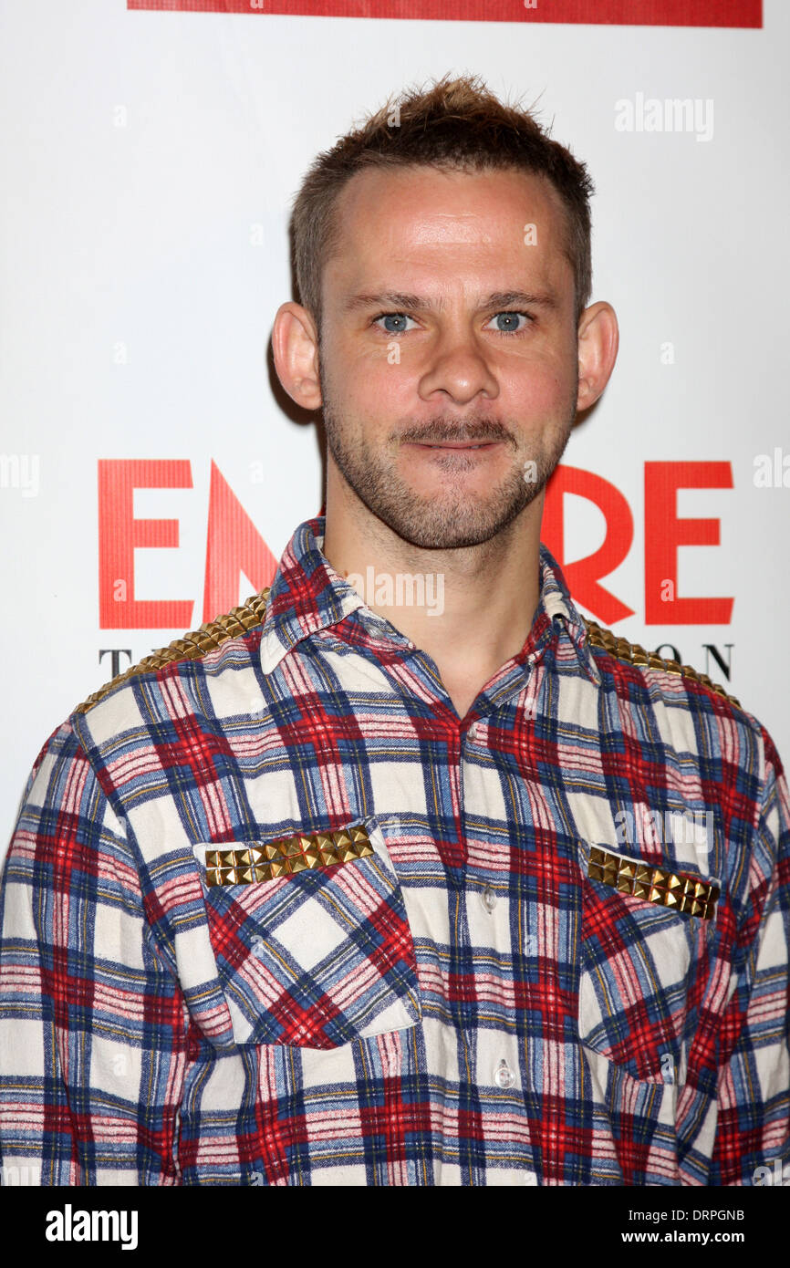 Dominic Monaghan at the Empire Magazine iPad Launch Party, Sunset Tower Hotel, West Hollywood, CA 10-02-12 - Stock Image