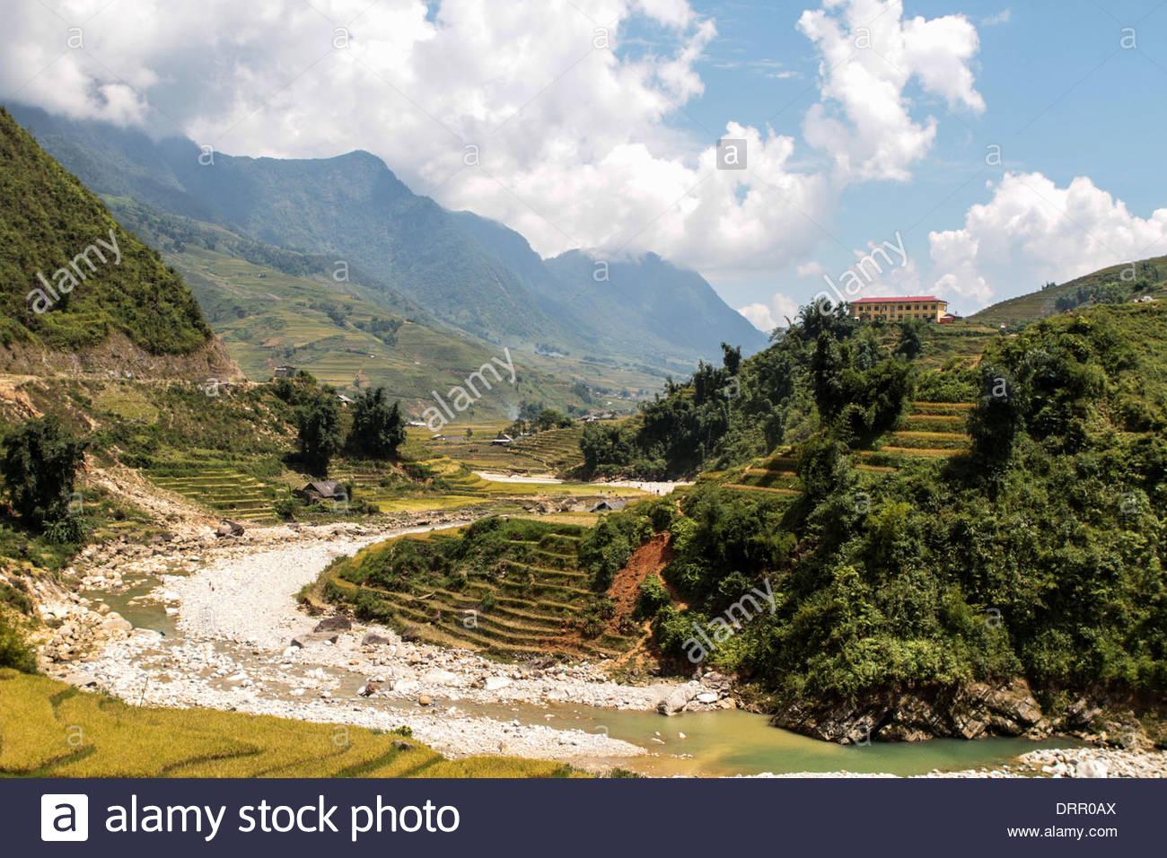 North Vietnam, Sapa, Asia - Stock Image