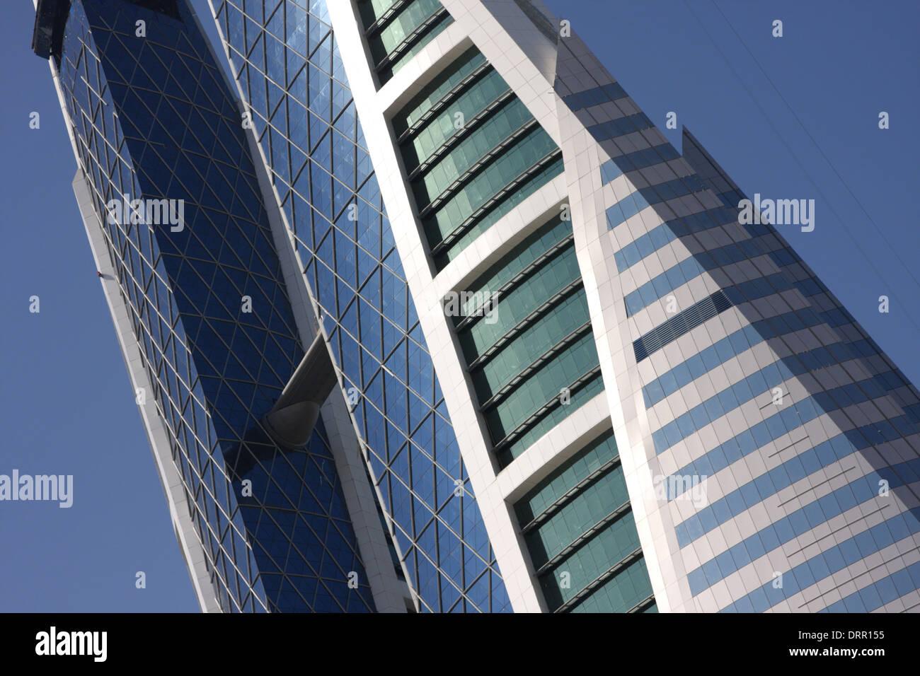 World Trade Centre Building, Manama, Kingdom of Bahrain - Stock Image