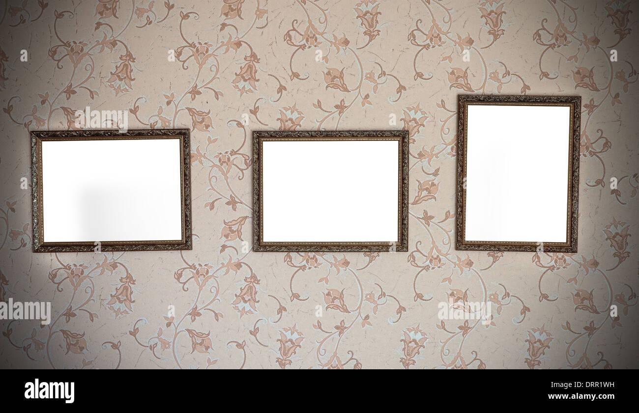 Empty Frames Wallpaper Stock Photos & Empty Frames Wallpaper Stock ...