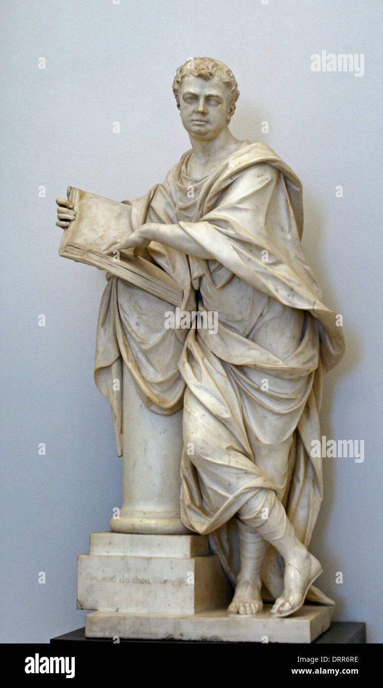 Magistrate John Willett 1763 Micheal Rysbrack 1694-1770 Flemish Belgian Belgium - Stock Image
