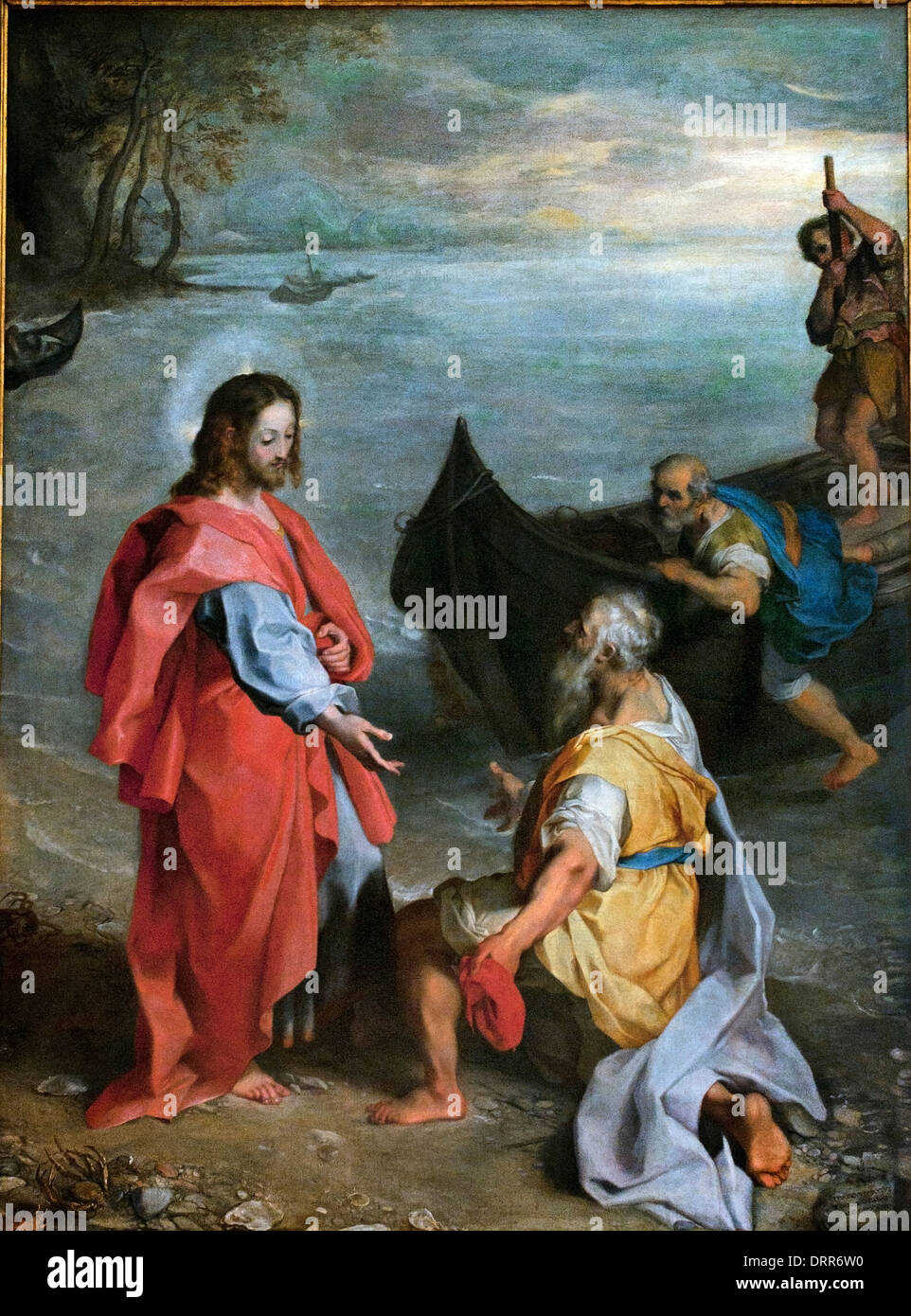 The Calling of St. Peter and St. Andrew (1580-1583) Federico Barocci 1535-1612 Italy Italian - Stock Image