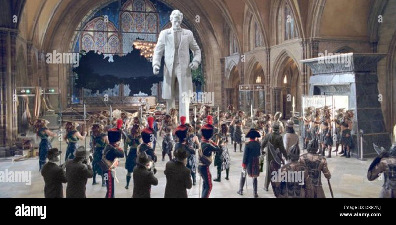 NIGHT AT THE MUSEUM: BATTLE OF THE SMITHSONIAN 2009 Twentieth Century Fox film - Stock Image