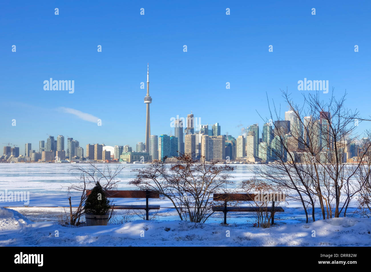 Downtown Toronto Lake Ontario Canada Stock Photos   Downtown Toronto ... 689470d125d