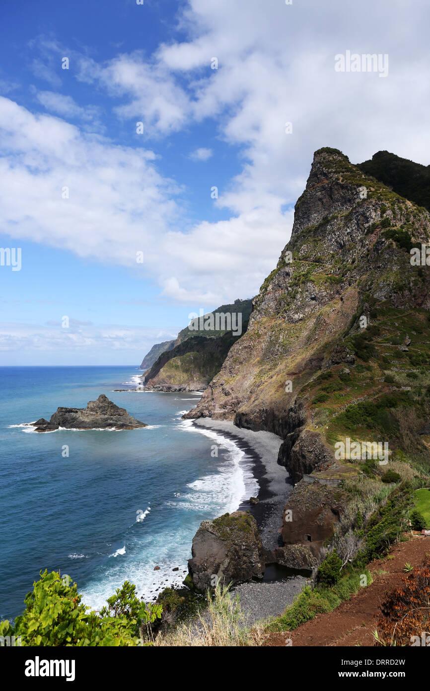beauty landscape Madeira madeira - Stock Image