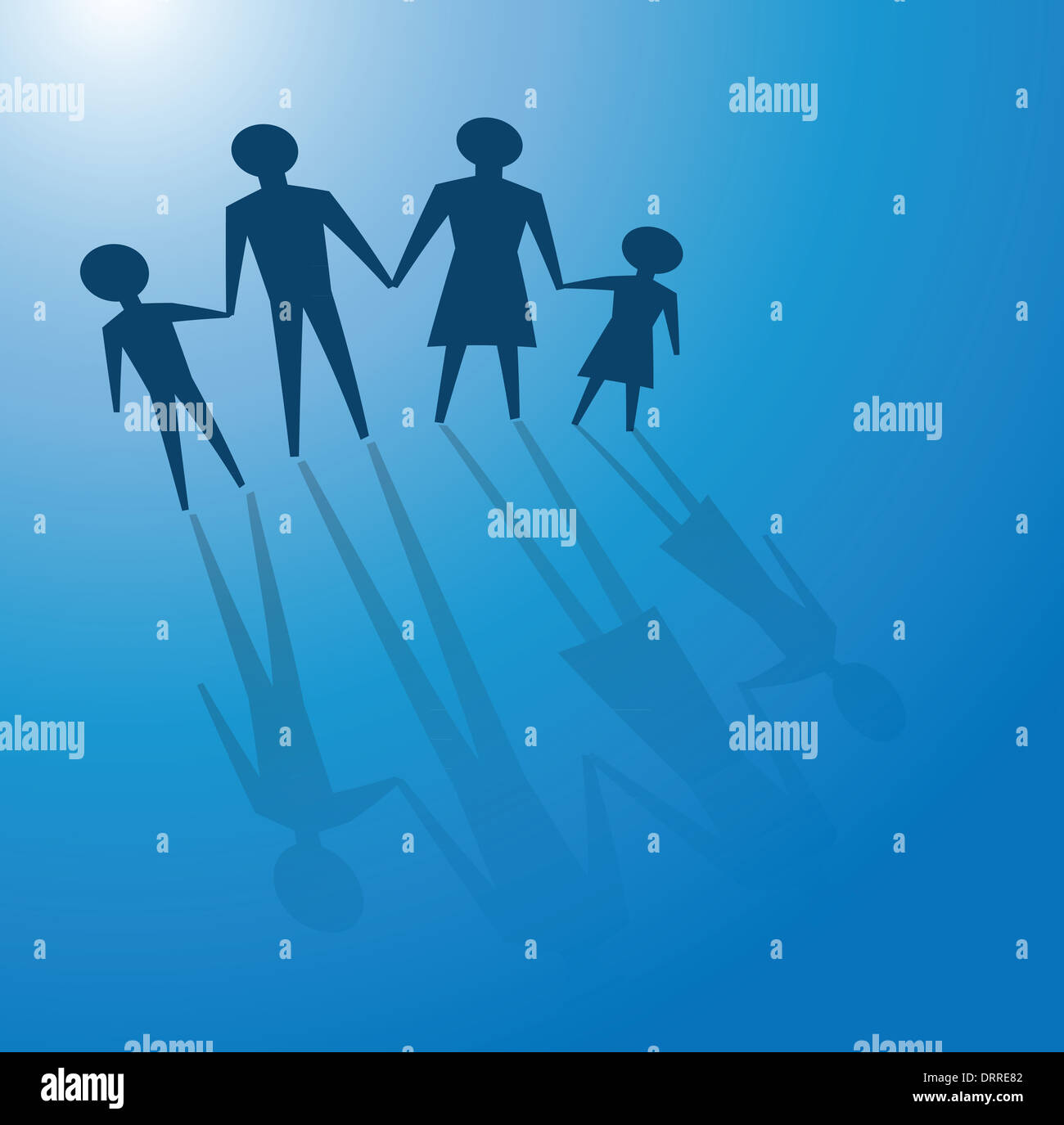 family values - Stock Image
