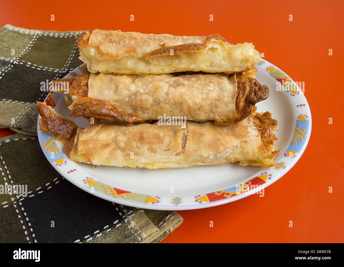 Bulgarian banica - Stock Image
