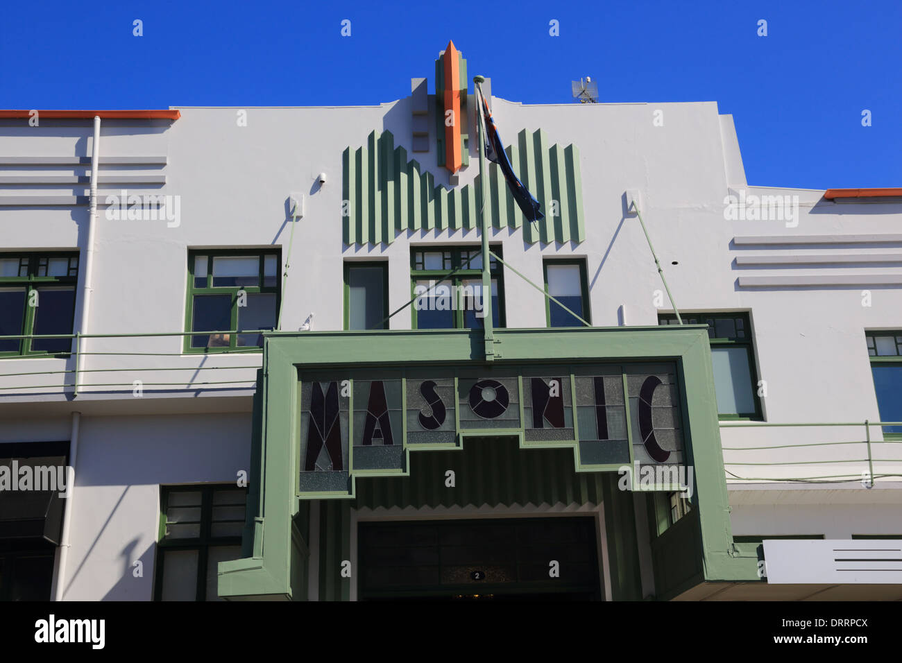 art deco napier masonic hotel napier hawkes bay north island new