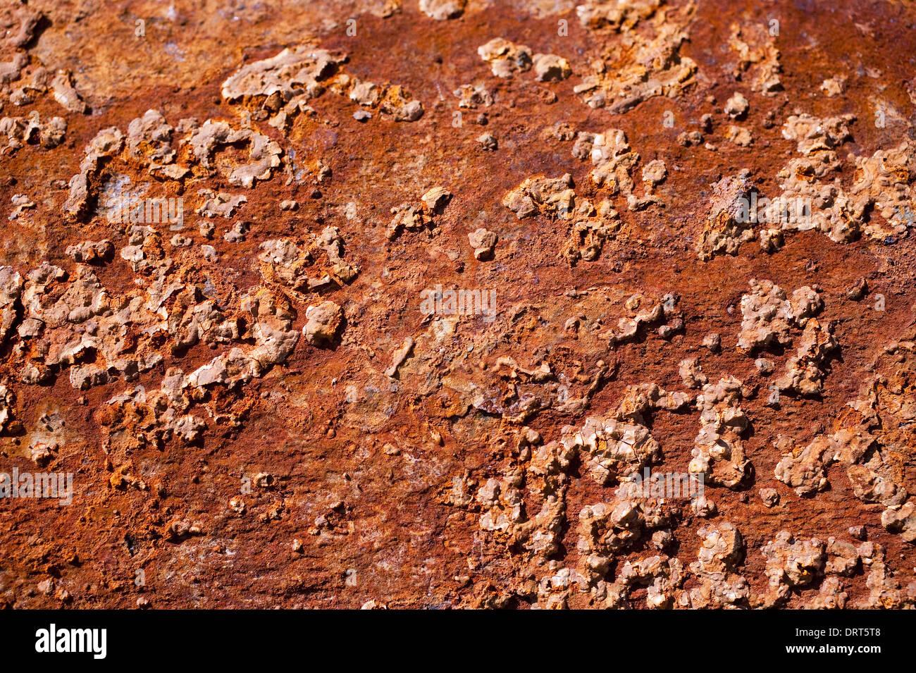 Rusty Steel Stock Photo