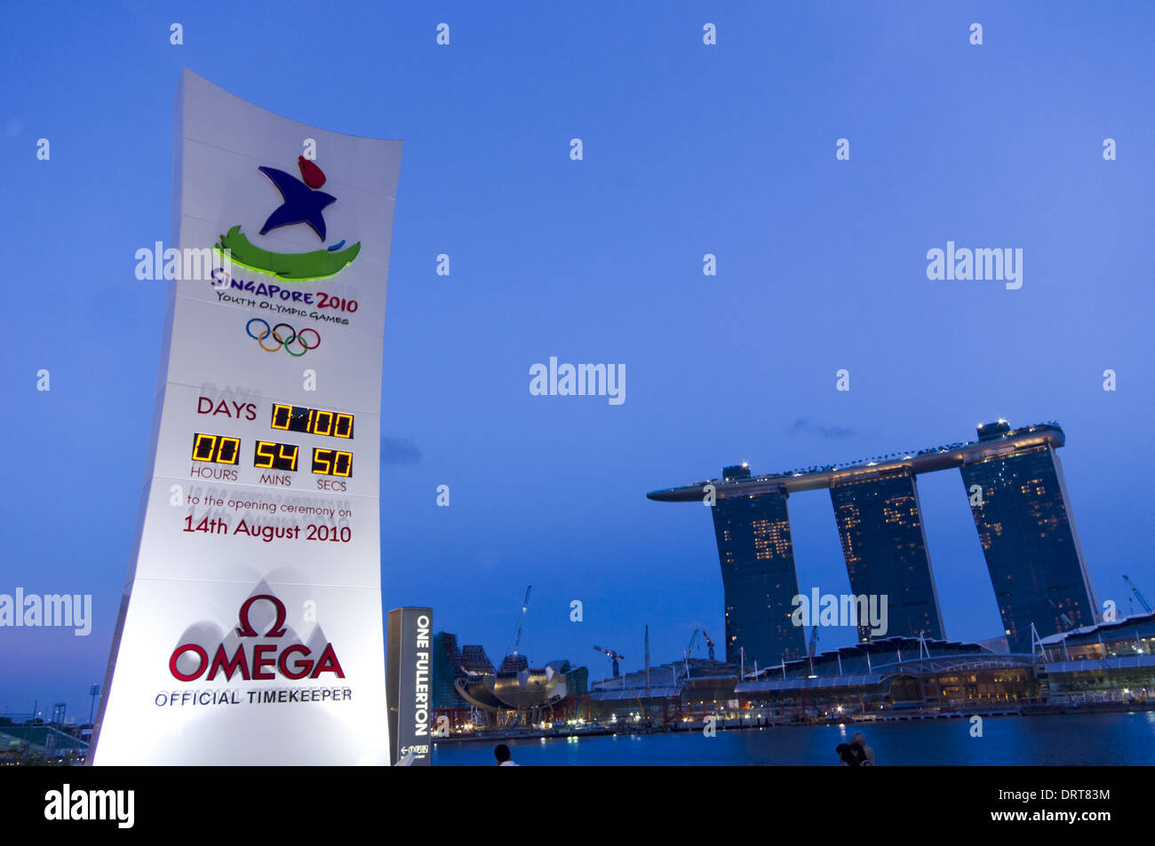 Youth olympic games, singapore 2010 - Stock Image