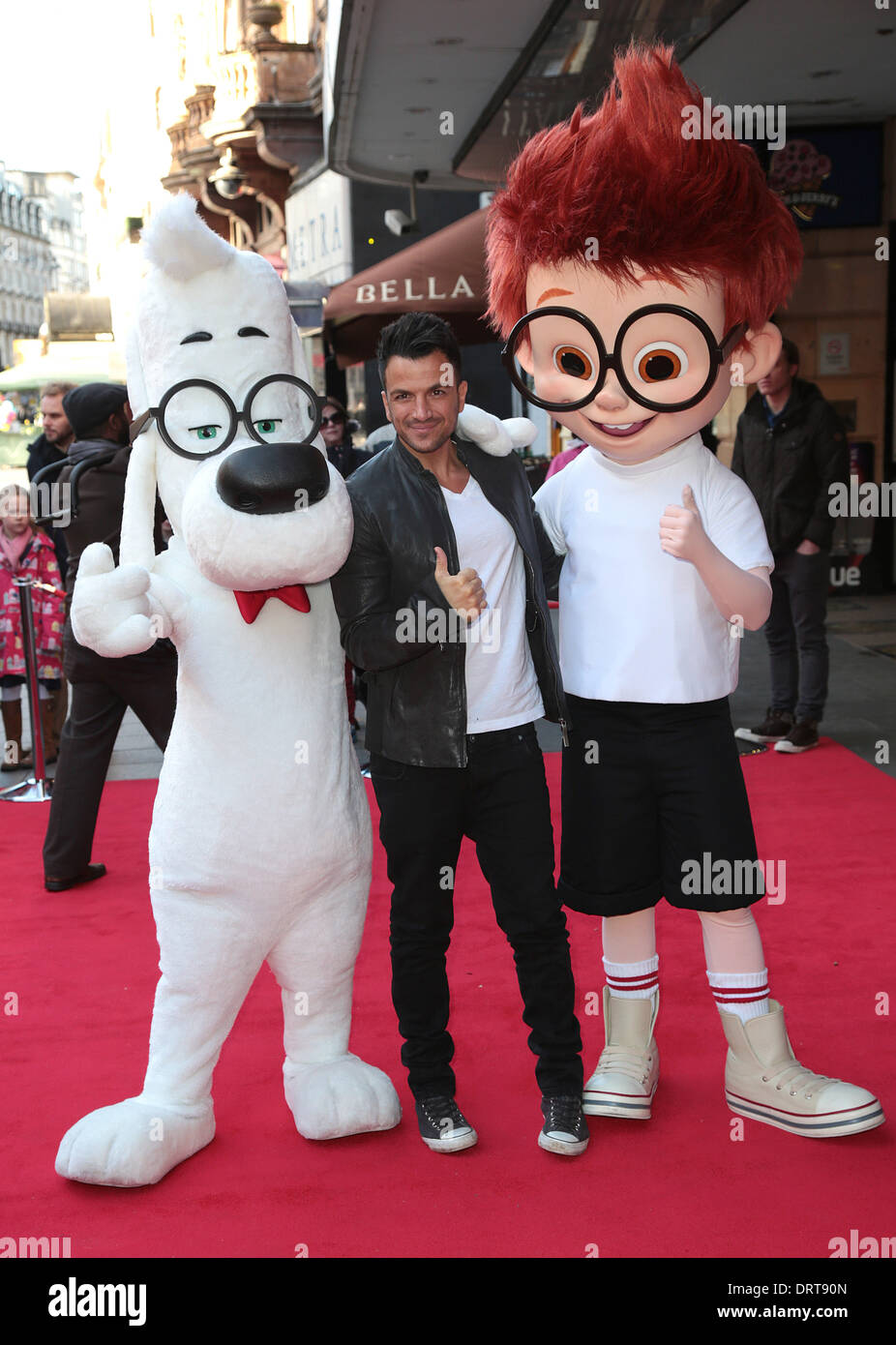 Singer peter andre stock photos singer peter andre stock images london uk 1st february 2014 peter andre arrives for the vip gala screening of m4hsunfo