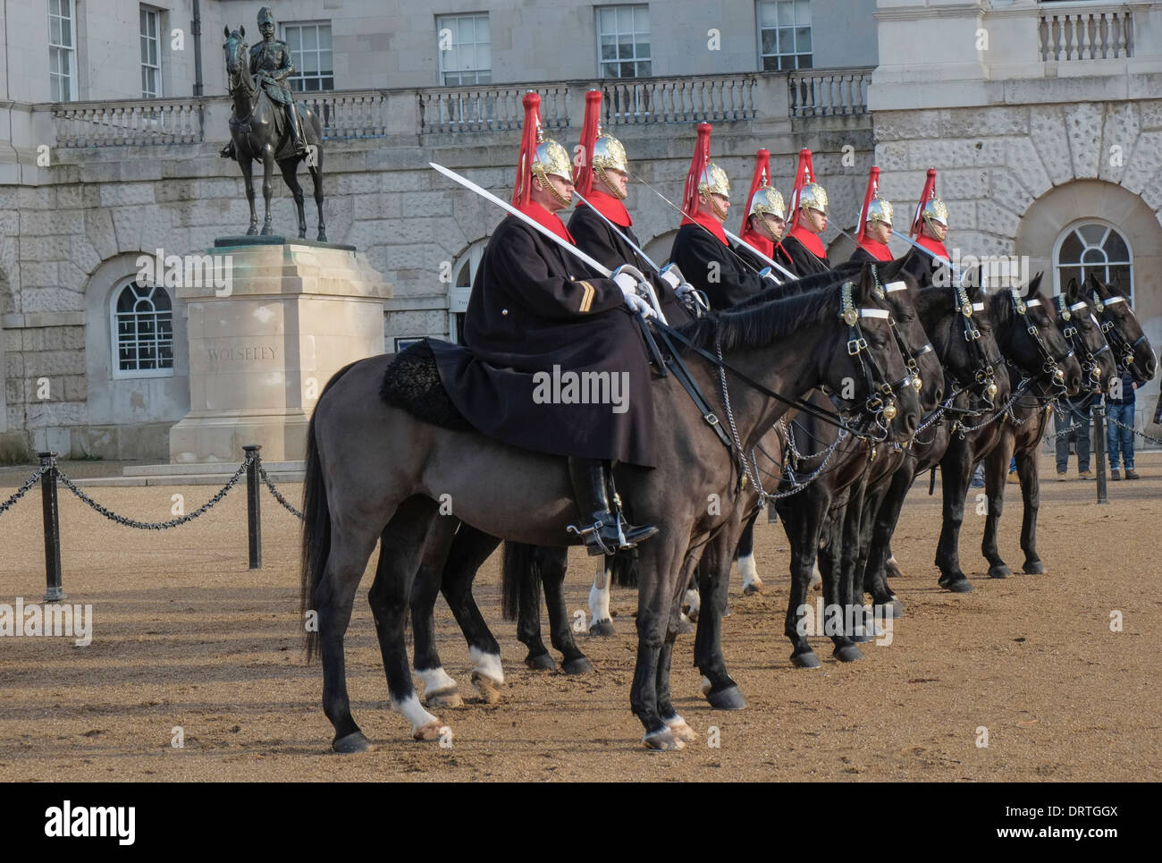Changing Of The Guard Horse Stock Photos & Changing Of The