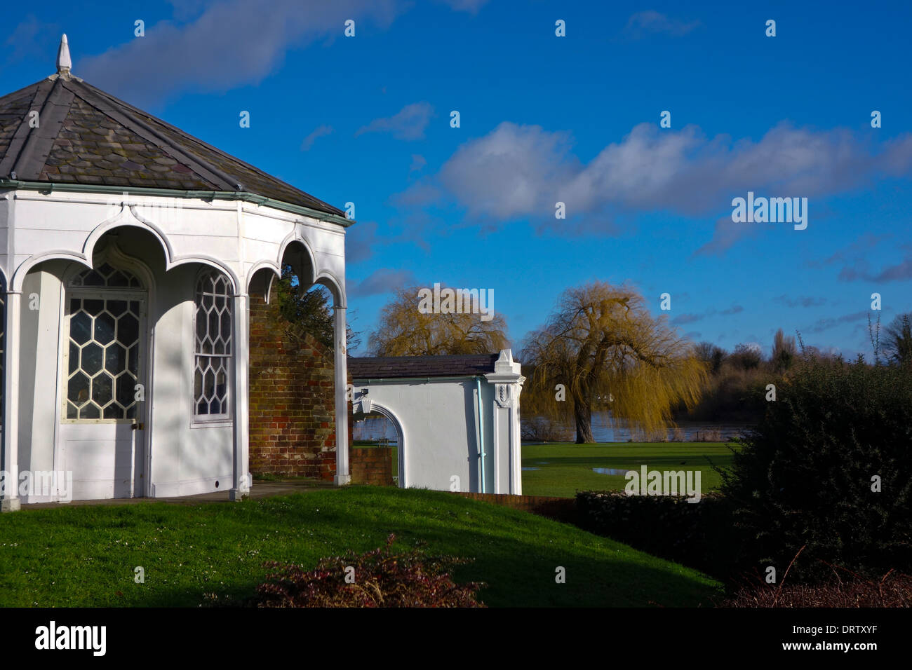 Radnor Gardens Strawberry Hill Twickenham England UK - Stock Image