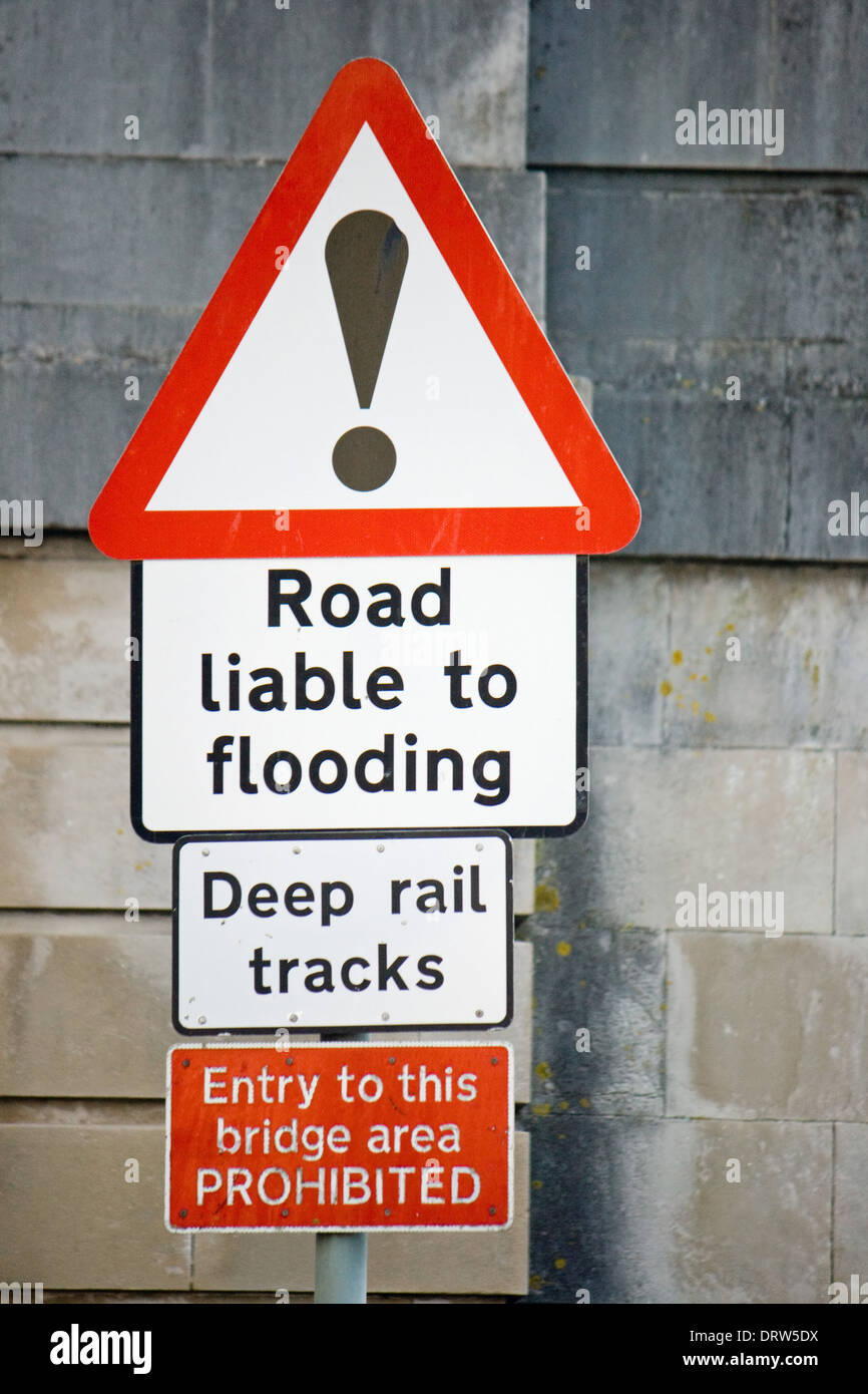 Flood Warning Poster