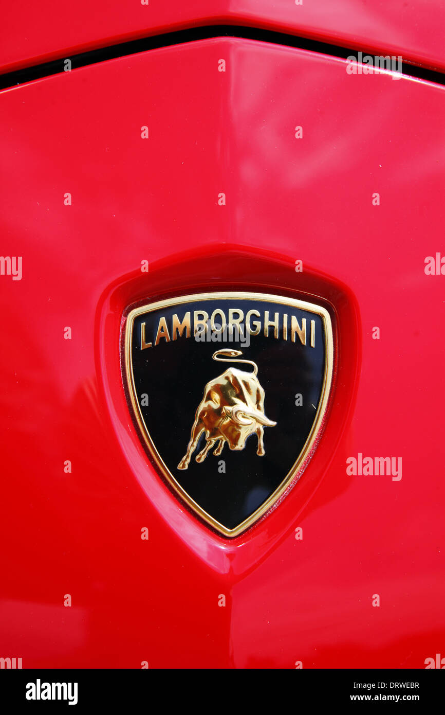 Lamborghini Badge Stock Photos Lamborghini Badge Stock Images Alamy