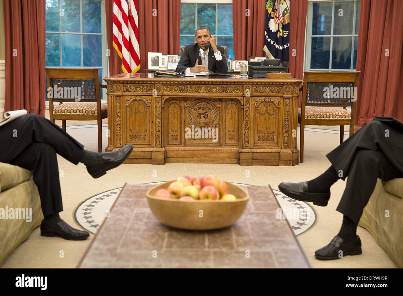 white house oval office desk. US President Barack Obama Talks On The Phone With Chancellor Angela Merkel Of Germany To Discuss White House Oval Office Desk L