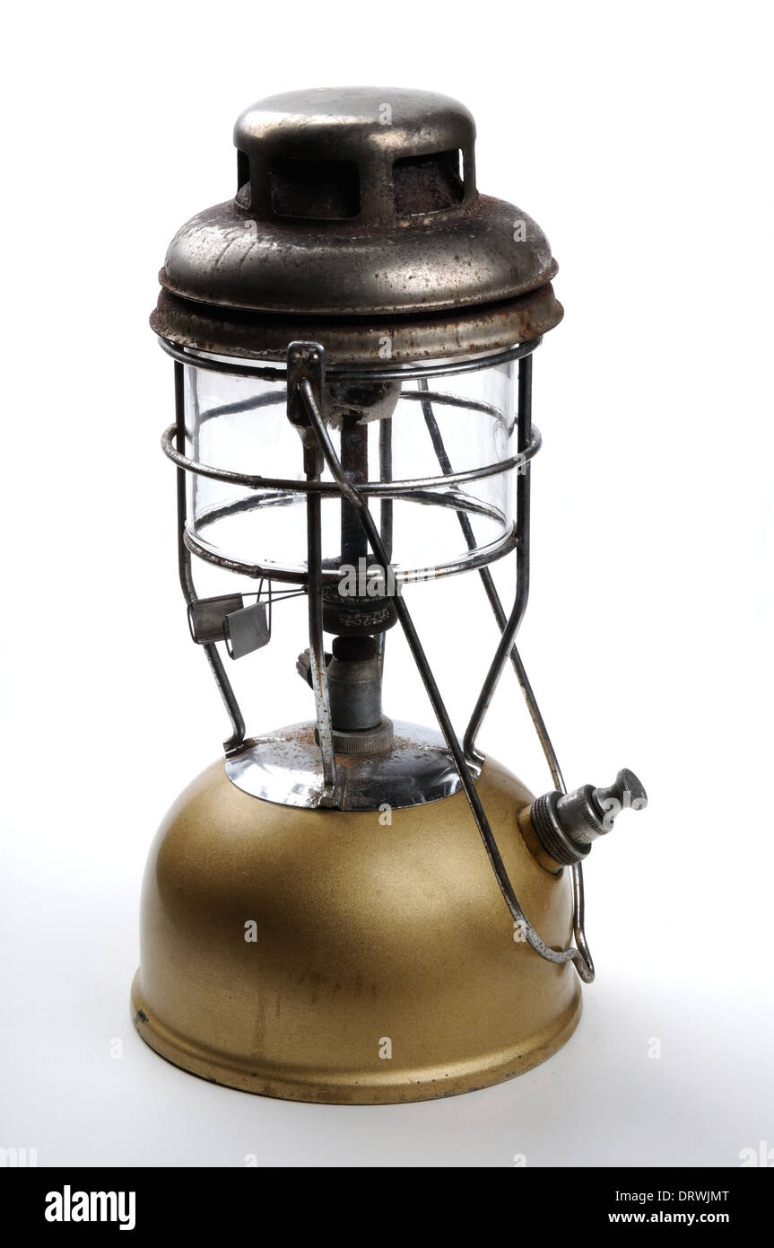 Old Tilley lamp - Stock Image
