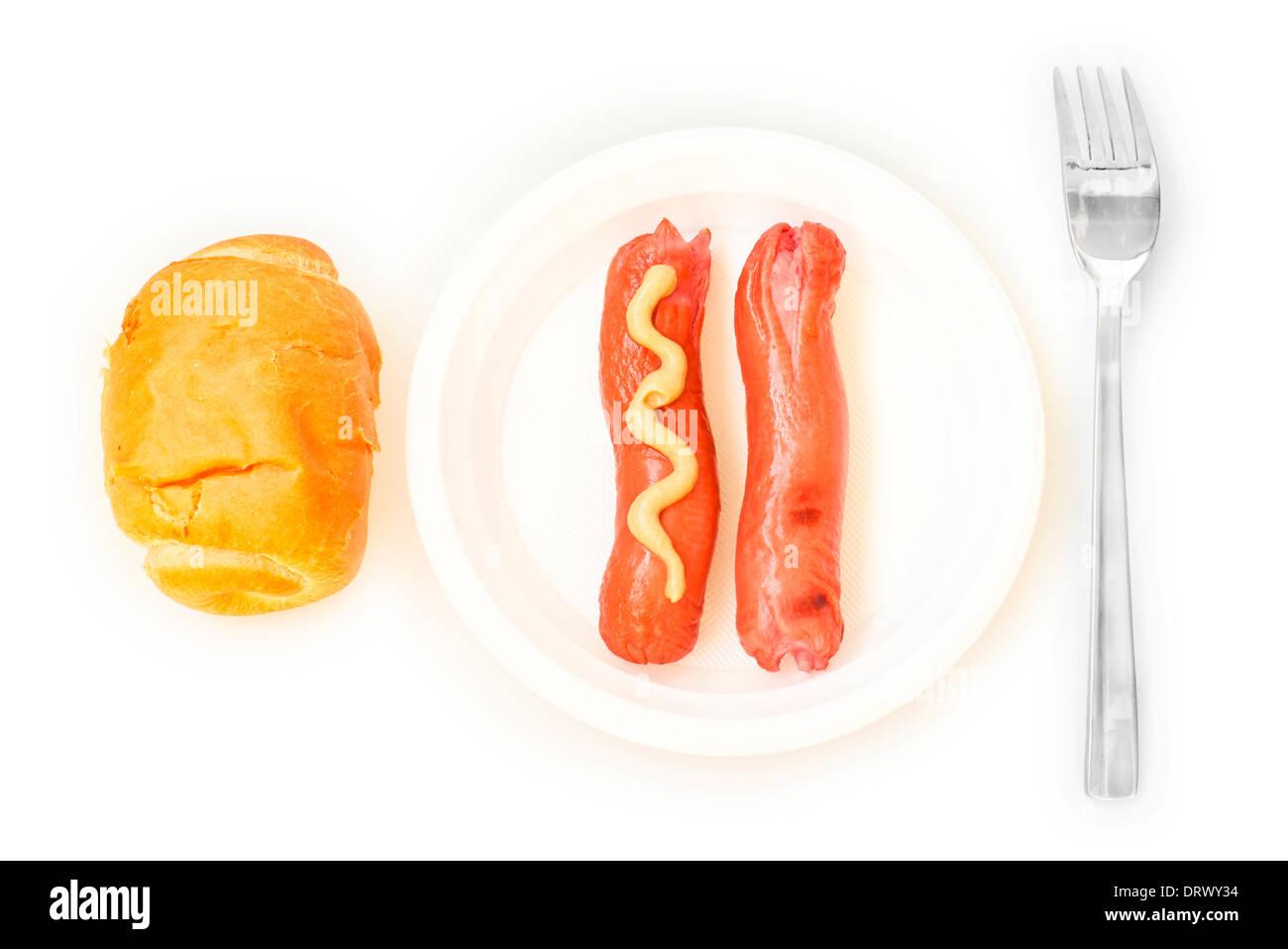 fast food - Stock Image