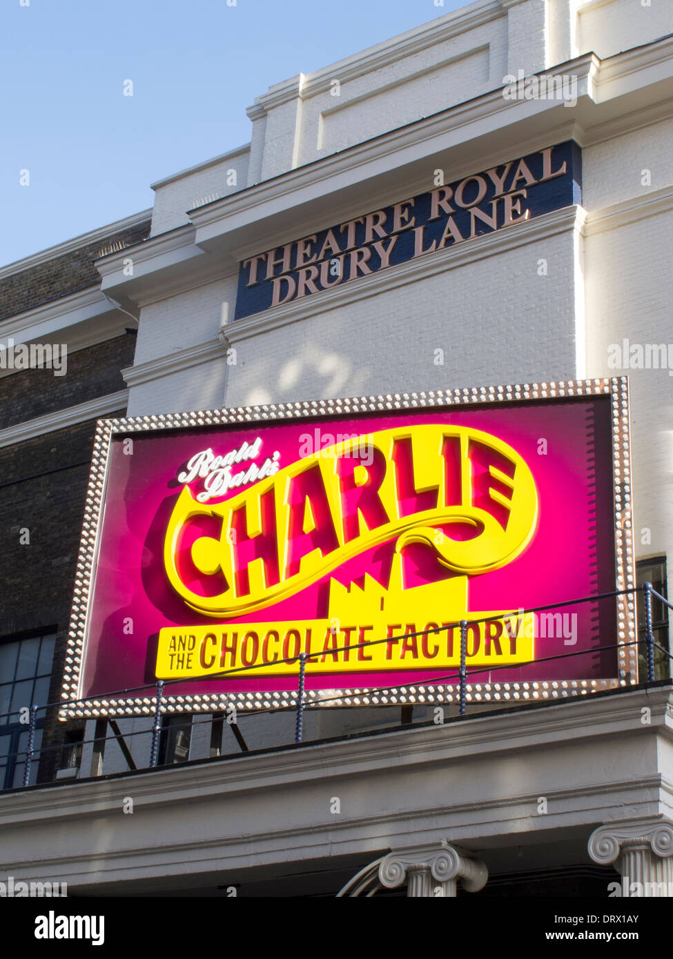 Charlie and The Chocolate Factory At The Theatre Royal Drury Lane - Stock Image
