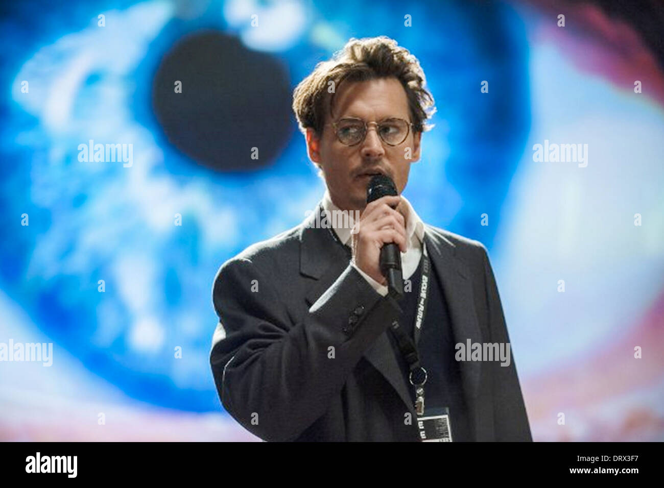 TRANSCENDENCE 2014 Alcon Entertainment film with Johnny Depp - Stock Image