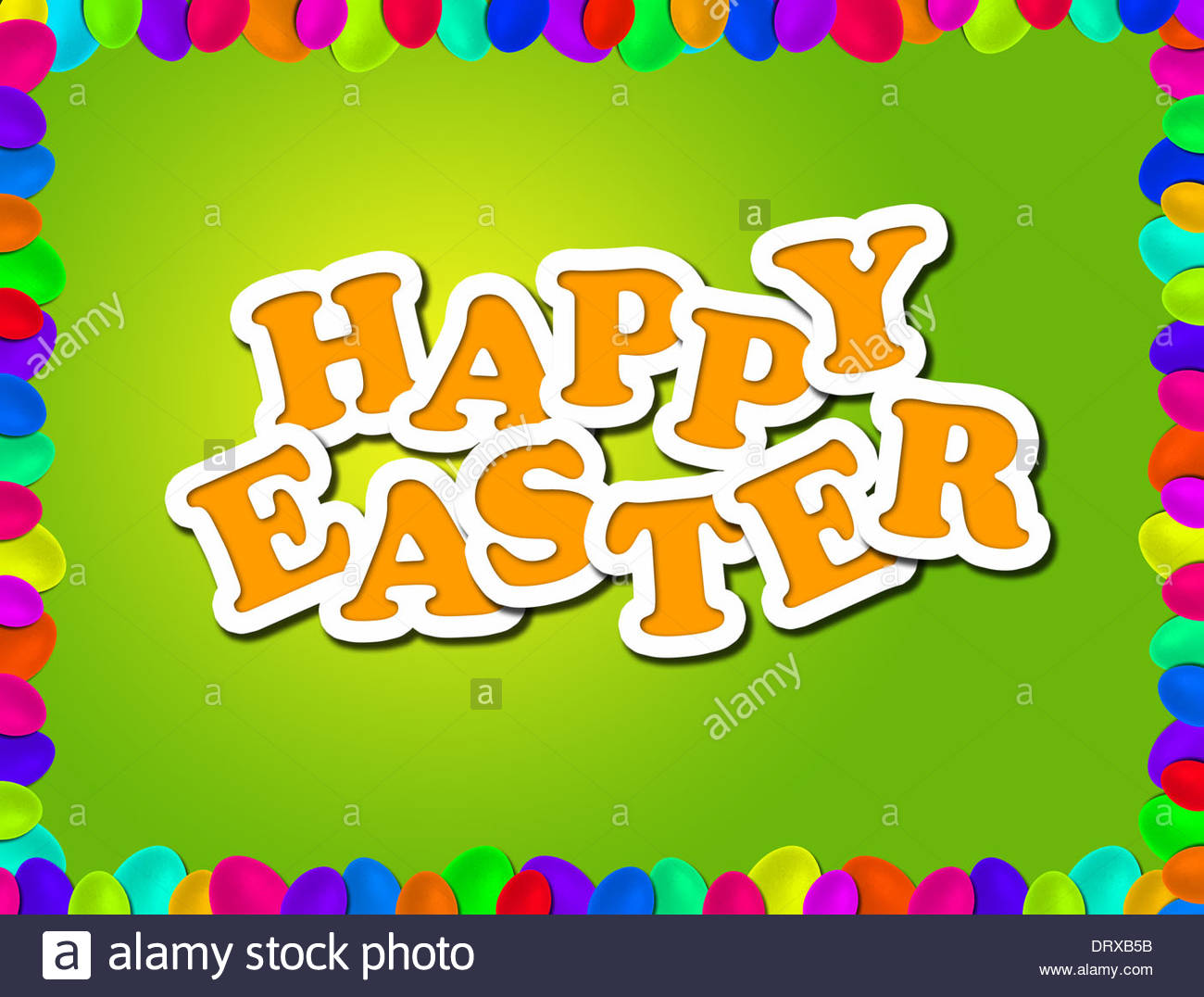 Happy Easter Greetings Stock Photos Happy Easter Greetings Stock