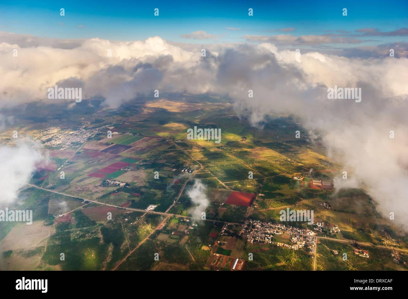 havana cuba aerial shot - Stock Image