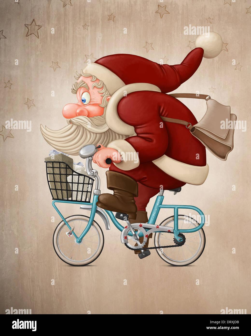 Christmas And Bike Stock Photos Amp Christmas And Bike Stock