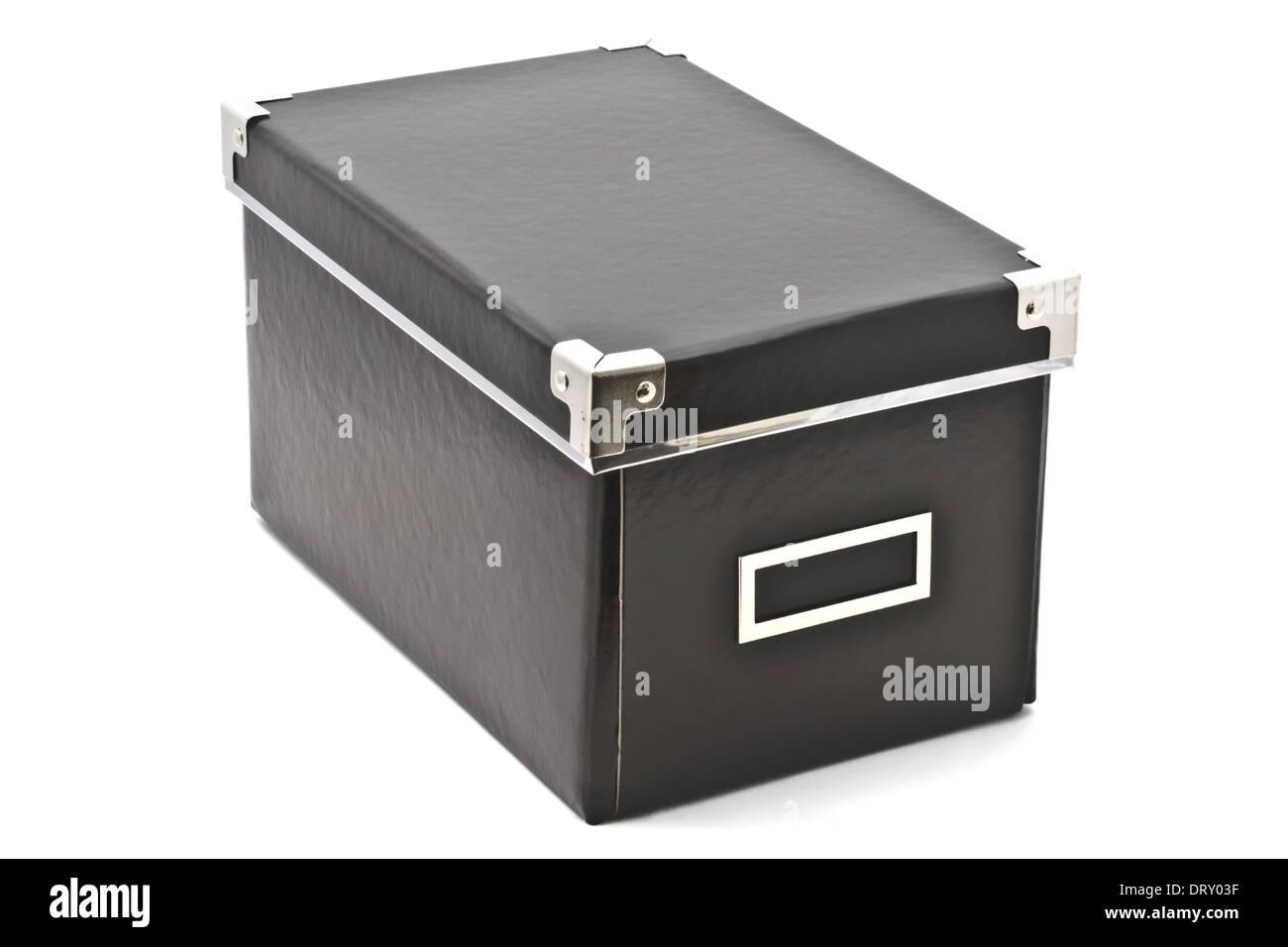 Black box - Stock Image