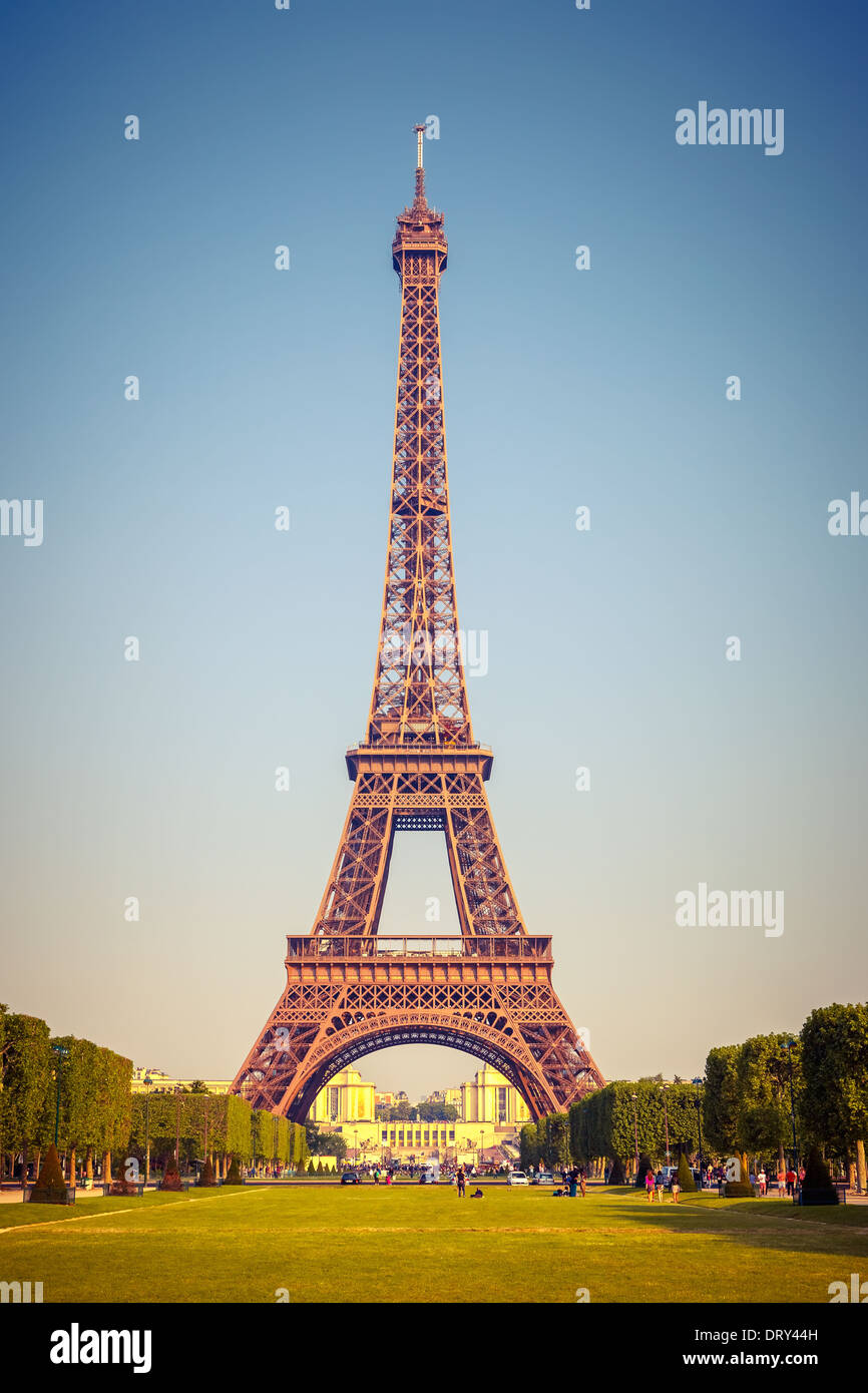 Eiffel Tower - Stock Image