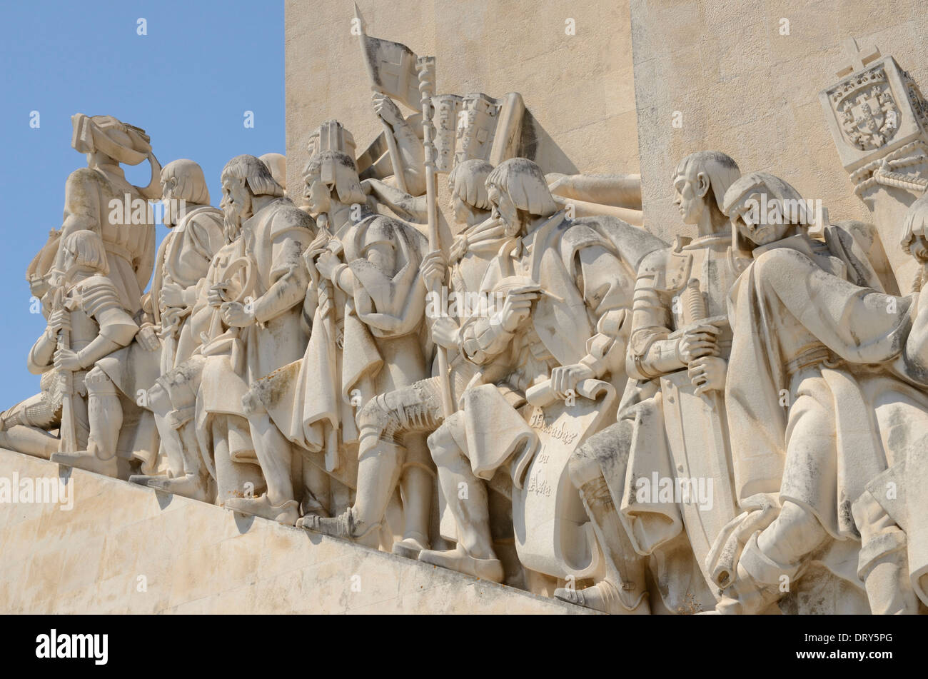 Monument to the Discoveries - Stock Image
