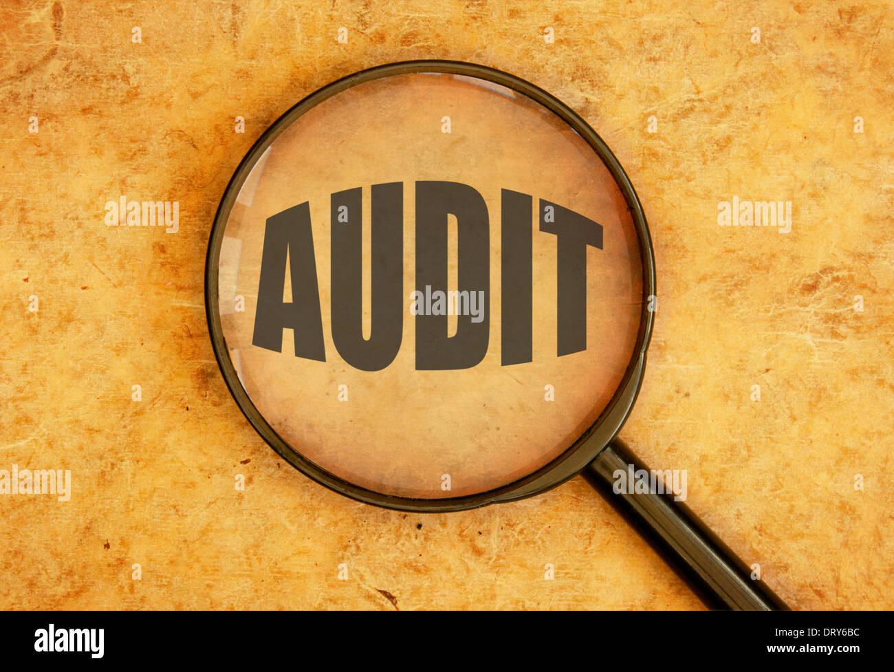 Audit - Stock Image