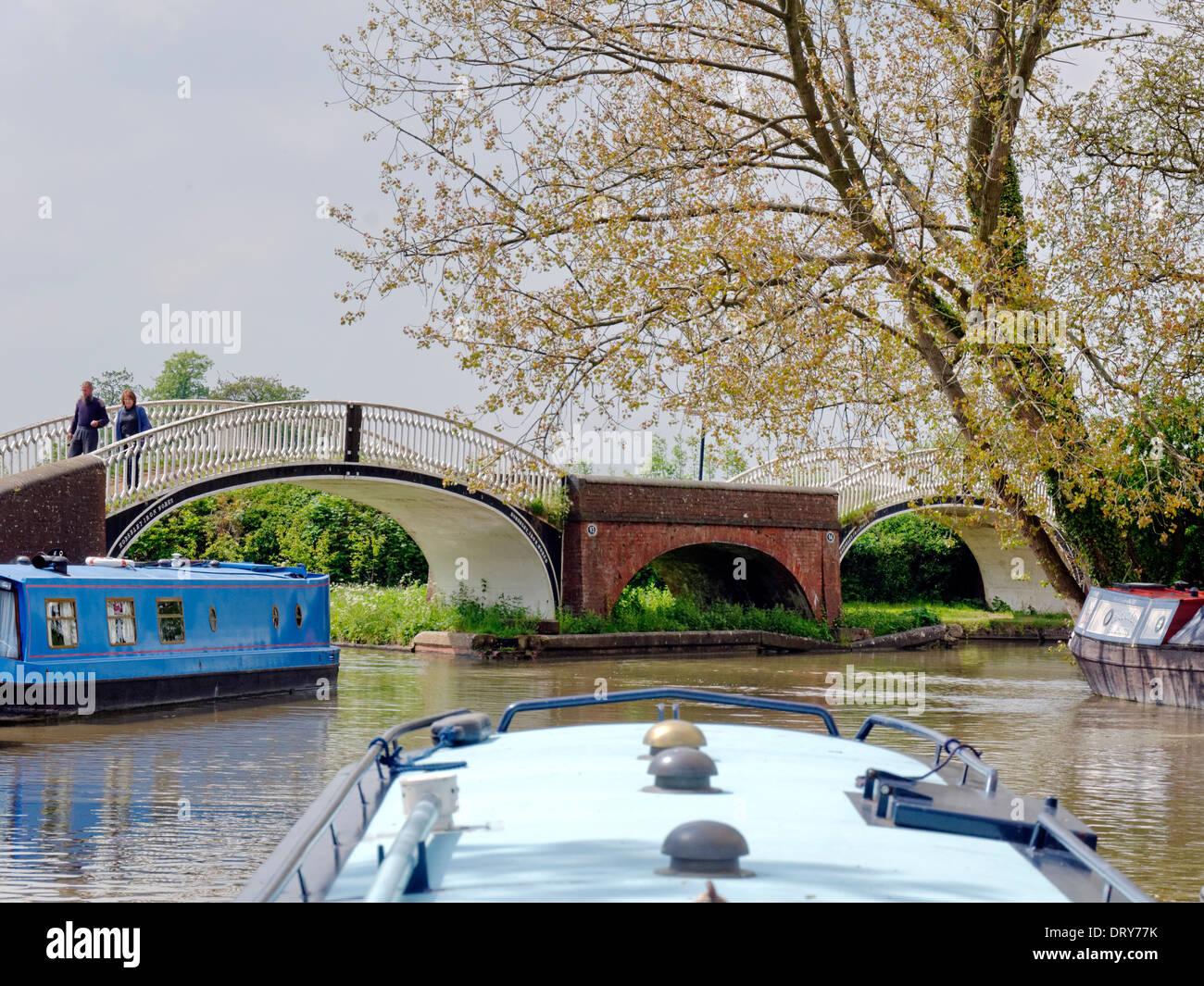 Canal Bridges - Stock Image