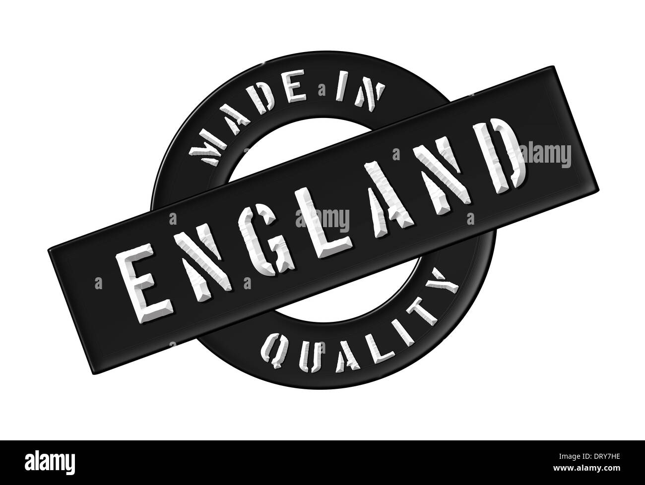 Made in England - Stock Image