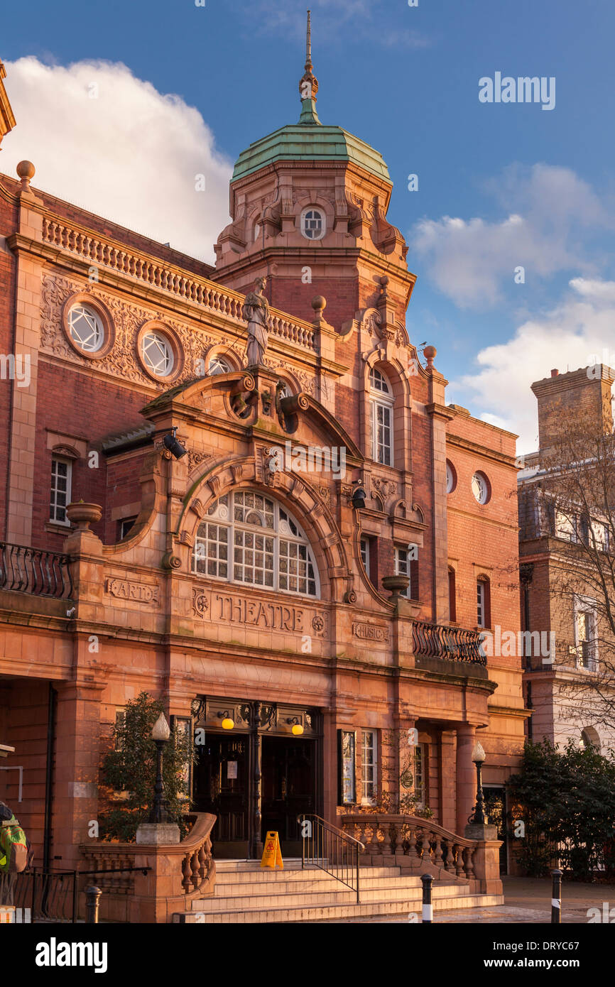 Richmond Theatre-designed by architect Frank Matcham,Little green,Richmond Upon Thames,Greater London,UK - Stock Image