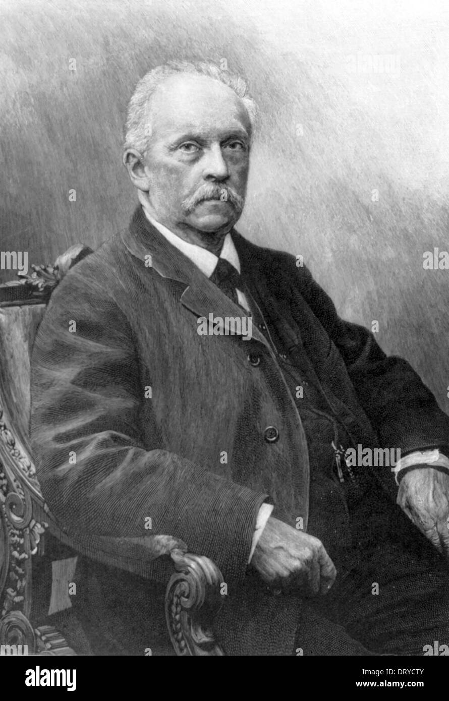 Hermann Ludwig Ferdinand von Helmholtz (August 31, 1821 – September 8, 1894) was a German physician and physicist - Stock Image