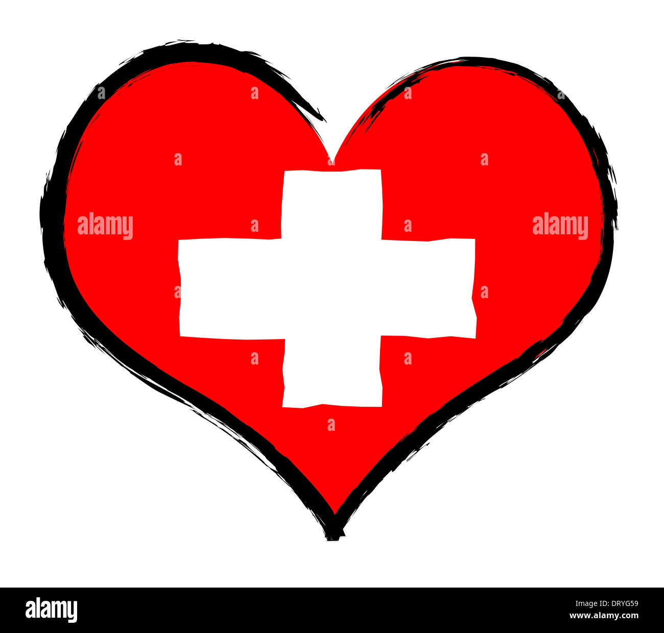 Heartland - Switzerland - Stock Image