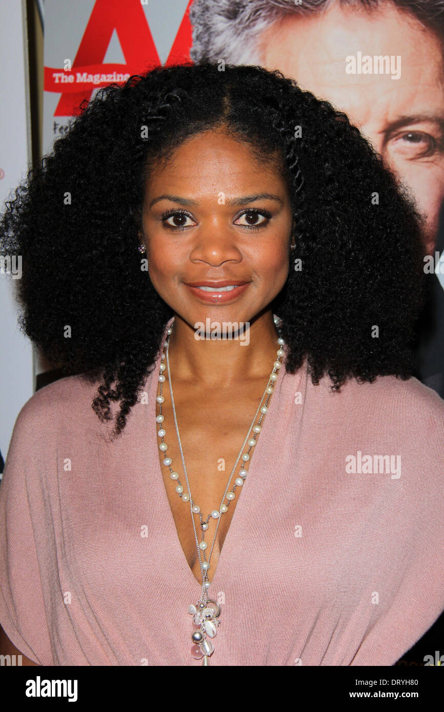 Kimberly Elise at the AARP Movies for Grownups Awards Luncheon, Peninsula Hotel, Beverly Hills, CA 02-12-13 - Stock Image
